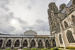 Toul - Cathedral cloister Royalty Free Stock Photo