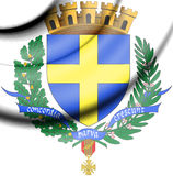 Toulon Coat of Arms, France. Stock Photo