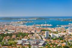 Toulon an einem Sommertag Stockfotos