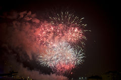 Toulon (France): fireworks Stock Photo