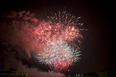 Toulon (France): fireworks Stock Photo