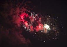 Toulon (Frankreich): Feuerwerke Lizenzfreie Stockfotografie