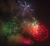 Toulon (Frankrijk): vuurwerk Stock Foto's