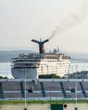 Toulon, harbor and stadium Stock Photo