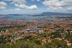 Toulon. Overview of toulon, cote d'azur, france Stock Image