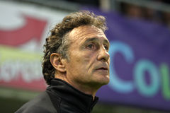 Toulousain's coach Guy Noves Stock Images