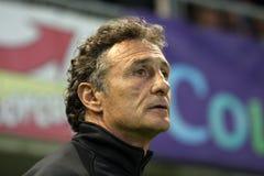 Toulousain's coach Guy Noves Stock Images