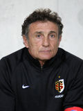 Toulousain's coach Guy Noves Stock Image