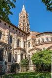 Toulouse - Basilica of Saint Sernin - France. Toulouse - View at the Basilica of Saint Sernin Royalty Free Stock Images
