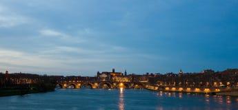 Toulouse bei Dawntime Stockfoto