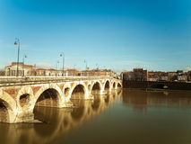 Toulouse cityscape Stock Images