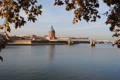 Toulouse cityscape Royaltyfria Bilder