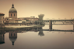 Toulouse cityscape Royalty Free Stock Photography