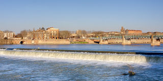 Toulouse cityscape Stock Photos