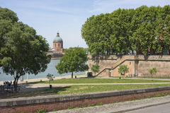 Toulouse cityscape Royalty Free Stock Image