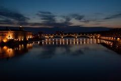 Toulouse e Garona Fotografia de Stock