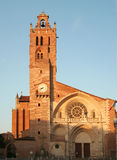 Toulouse (France), Saint-Etienne Cathedral. Toulouse (France), the Saint-Etienne Cathedral located in the nice district of the antique dealers Royalty Free Stock Photo