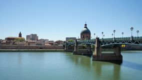 Toulouse i Frankrike Tid schackningsperiod lager videofilmer