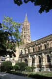 Toulouse-Kathedrale stockfotos