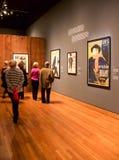 Toulouse--Lautrecausstellung Stockbilder