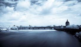 Toulouse panoramic infrared cityscape Stock Image