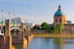 Toulouse por una tarde del verano Fotografía de archivo libre de regalías
