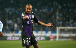 Toulouse's Aymen Abdennour Royalty Free Stock Photography
