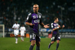 Toulouse's Aymen Abdennour Stock Photo