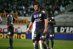 Toulouse's Franck Tabanou Stock Photos