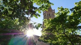 Toulouse, in zuidelijk Frankrijk stock footage