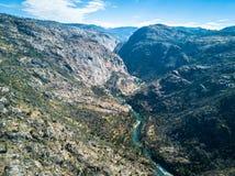 Toulumne river in  Poopenaut Valley Stock Images