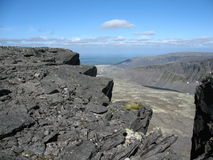 Toundra de montagne Image libre de droits