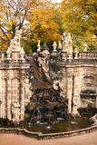 The tountain in Zwinger, Germany Stock Image