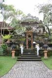 Tour à l'intérieur de Puri Saren Ubud, le palais de royaume images stock
