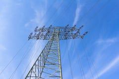 Tour électrique énorme Images libres de droits