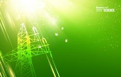 Tour électrique illustration de vecteur