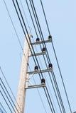 Tour électrique concrète Photo stock