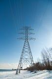 Tour électrique de boîte de vitesses (pylône de l'électricité) Photo libre de droits