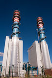 Tour électrique de central de générateur Images stock