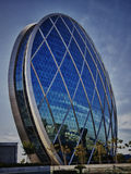 Tour Abu Dhabi de pièce de monnaie Images stock