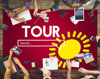 Tour Adventure Sight Seeing Travel Concept Royalty Free Stock Photos