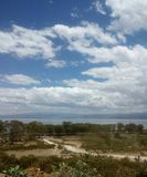 Tour in Africa. Beautiful view of the clear Nakuru sky Stock Photography