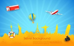 Tour And Travel Stock Photography