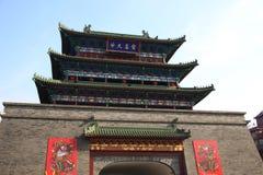 Tour antique de tambour à Kaifeng Photos stock