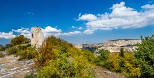 Tour antique en montagne Photo libre de droits