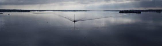 Tour apaisant de bateau Photo libre de droits