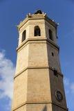 Tour, architecture traditionnelle du centre du CIT espagnol Photos libres de droits