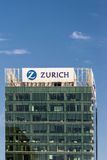 Tour Auckland du centre de bureau d'assurance de Zurich Photos libres de droits