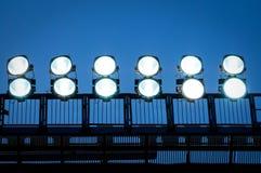 Tour avec des projecteurs photo libre de droits
