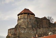 Tour blanche de château royal dans Esztergom hungary image libre de droits